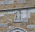 Carving representing the Holy Trinity, St Nicholas, Abbotsbury.JPG