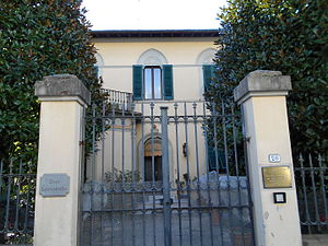 Ruggero Leoncavallo - Leoncavallo's house at Montecatini Terme