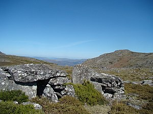 Peneda-Gerês National Park - Dolmens in Serra Amarela, used by early inhabitants in the inhospitable high altitudes