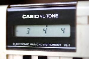 Casio VL-1 - The LCD