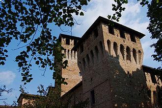 Montecchio Emilia - Castle of Montecchio.