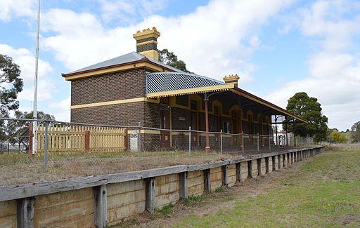 Casterton Railway Station 001