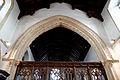Castle Hedingham, St Nicholas' Church, Essex England, chancel arch.jpg