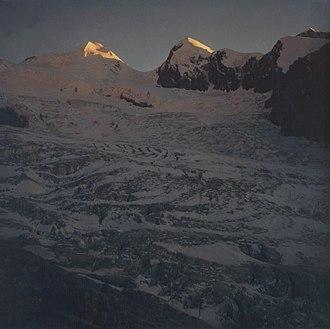 Castor (mountain) - Image: Castor und Pollux