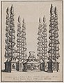Catafalque for Marchese Bartolomeo Ruspoli, S. Maria in Vallicella, Rome, September 21, 1681 MET DP875172.jpg