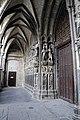 Cattedrale di tournai, portico, 01.jpg