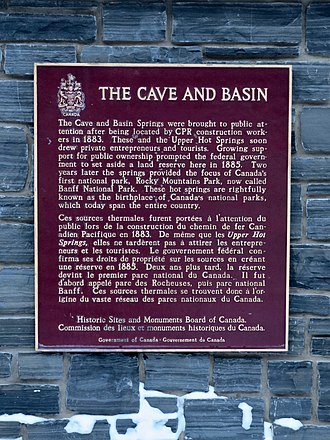 Cave and Basin National Historic Site - Image: Cave and Basin National Historic Site 01