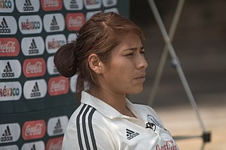 Cecilia Santiago Mexican footballer