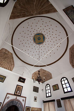 Ceiling of the library of Hafiz Ahmed Aga.jpg