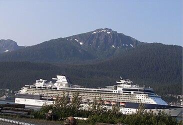 Celebrity Infinity in Juneau, Alaska 2.jpg