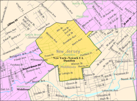 Census Bureau map of Dunellen, New Jersey.png