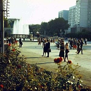 Moldova - Bălți in Soviet Moldavia in 1985