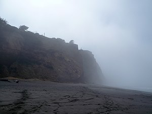 Centerville, Humboldt County, California - Looking South along Centerville Beach