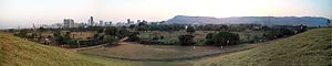 Central Park, Kharghar - Panoramic view from the Central Park