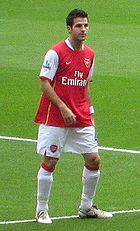 Cesc Fàbregas was the 2008 award winner.