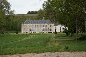 Vandières, Marne - Château Vandières.