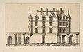 Château de Chenonceau, No 1, after Ducerceau MET DP813237.jpg