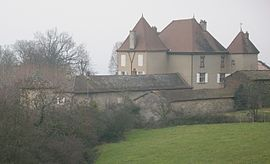 The chateau in Chevagny-les-Chevrières