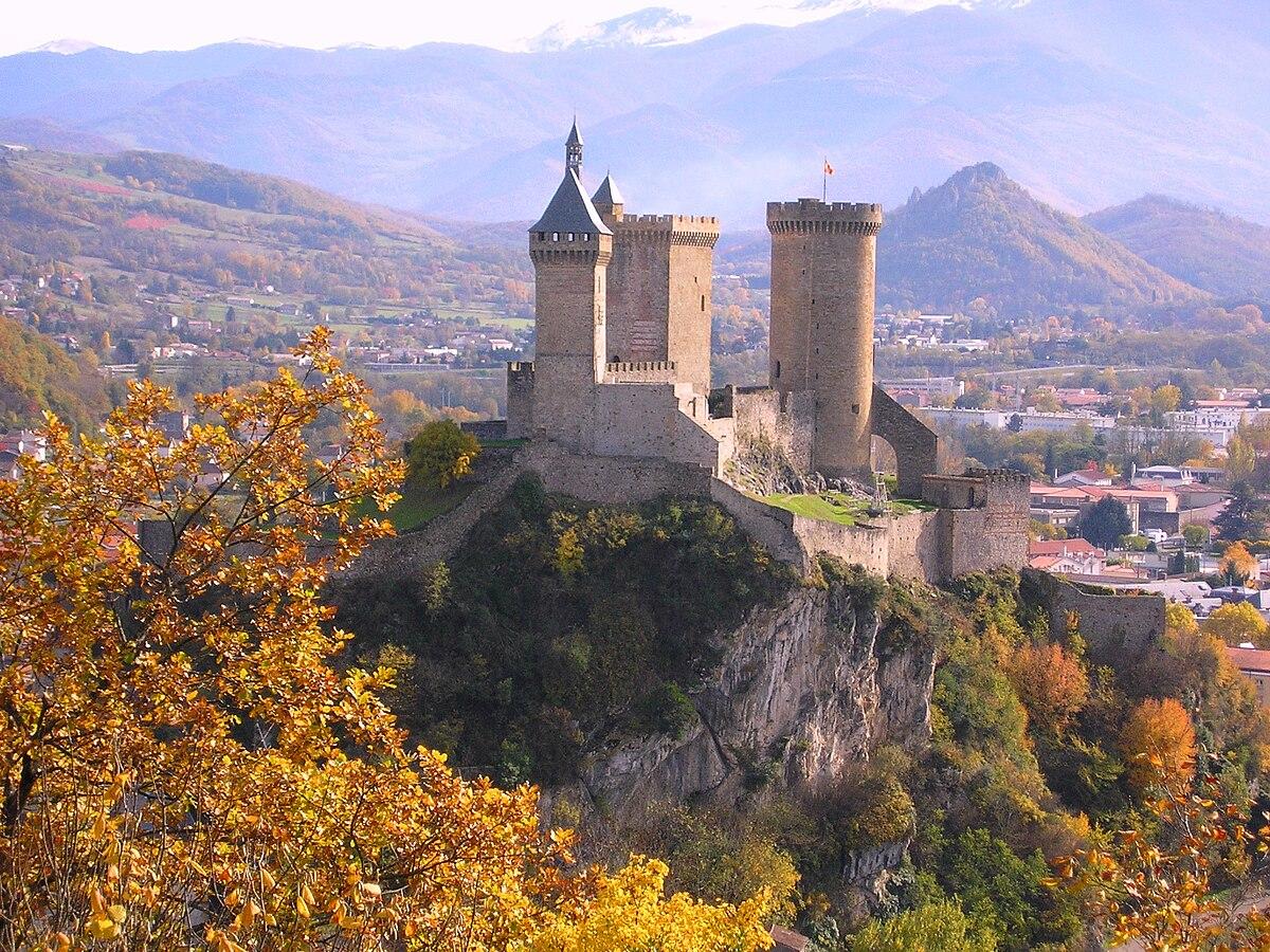 Burg Foix - Wikipedia