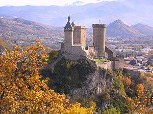 Die Burg von Foix