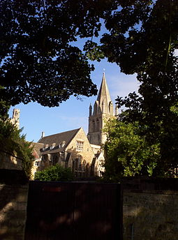 Christ Church Cathedral spire and associated buildings ChCh Cathedral.jpg