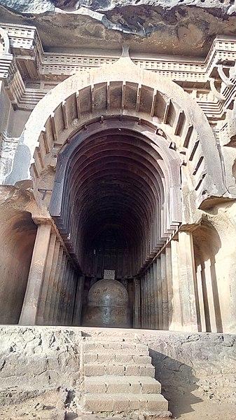File:Chaityagrih at Bhaje.jpg