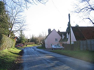 Chalk End - Image: Chalk End, Essex geograph.org.uk 108564