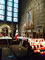Chapel of the Virgin of Guadalupe in Notre Dame, one of the most visited. Paris, France.jpg