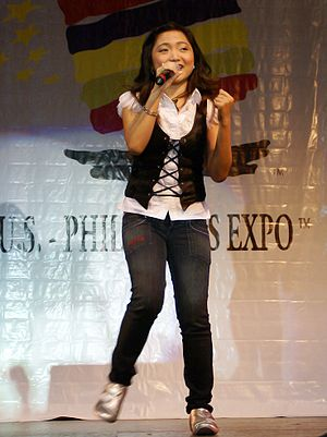 charice sings at US Philippine expo @ Pomona, CA