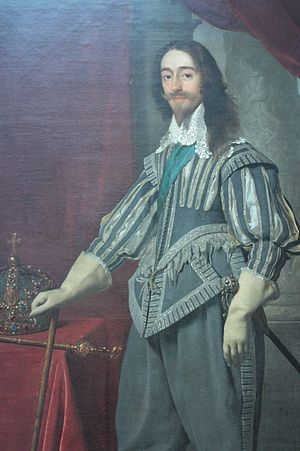 Daniël Mijtens - Charles I by Mytens, 1631, National Portrait Gallery, London