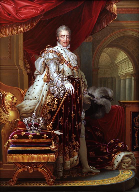 Carlos X Rey de Francia