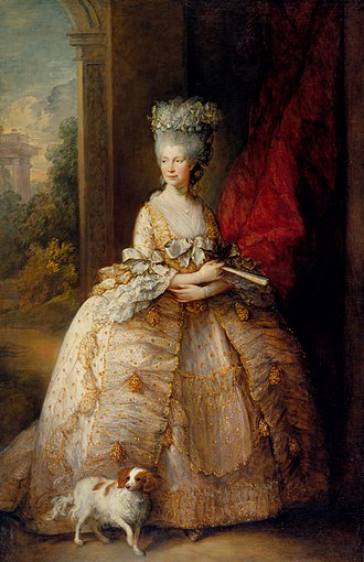 Charlotte of Mecklenburg-Strelitz - Queen Charlotte by Thomas Gainsborough, 1781