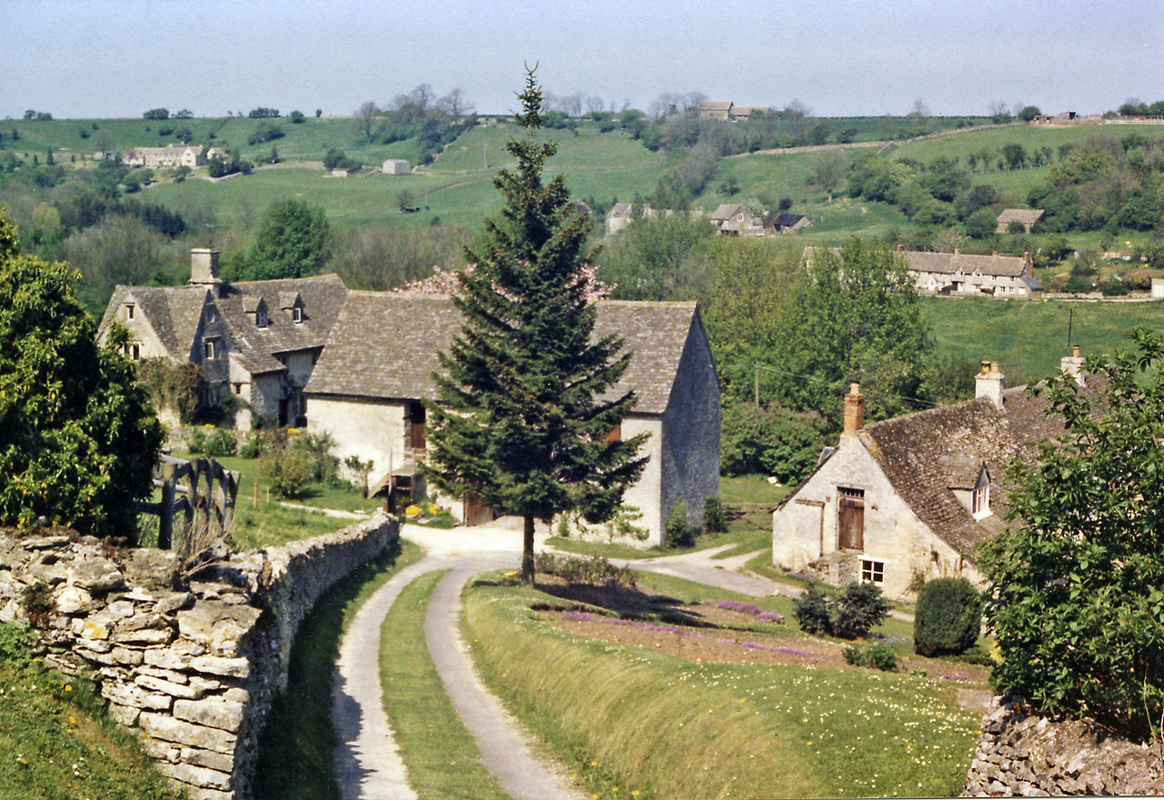 Northward view over Chedworth
