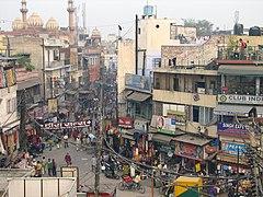 Cheh Tuti Chowk or Six Tuti Chowk, Main Bazar, Paharganj