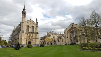 Cheltenham College - Cheltenham College chapel and library (Big Modern)