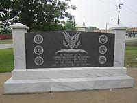 Cherokee County Veterans Monument, Jacksonville, TX IMG 3005