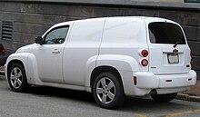 2009 chevy hhr panel van