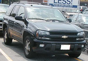 2004 2005 Chevrolet Trailblazer Photographed I