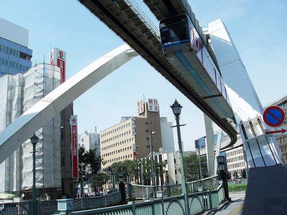 Chiba monorail train