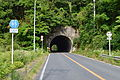 Chiba prefectural road route 85 (Mobara-Isumi line) in front of the Komatai tunnel.JPG