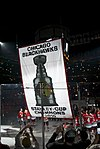 Chicago Blackhawks Stanley Cup Banner Ceremony (5104270080).jpg