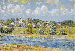 Landscape at Newfields, New Hampshire
