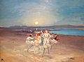 Children Dancing on the Strand by AE (George William Russell), Ireland, 1914, oil on canvas - Chazen Museum of Art - DSC02714.JPG