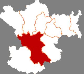 Wudu District District in Gansu, Peoples Republic of China