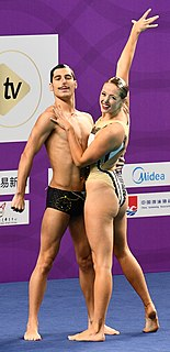 Danielle Kettlewell Australian synchronised swimmer