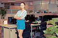 Chinese model with long legs in office environment (6759449719).jpg