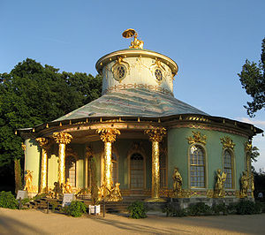1764 in architecture - Chinese House (Potsdam): European chinoiserie