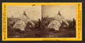 Chippewa indians and wigwams, by Martin's Art Gallery.png