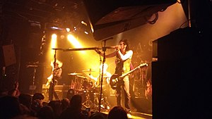 Like a Storm - Chris playing the didgeridoo live at the Melkweg in Amsterdam, Netherlands (February 12, 2016)