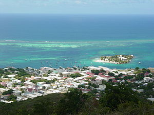 Christiansted, U.S. Virgin Islands - Image: Christiansted, US Virgin Islands, from Recovery Hill
